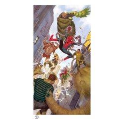 Marvel Art Print Spider-Man vs Sinister Six 43 x 74 cm - unframed