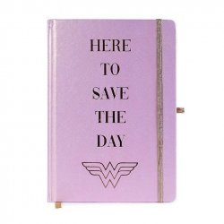 Wonder Woman Premium Notebook A5 Here to Save the Day