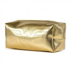 Wonder Woman Pencil Case Golden Shimmer