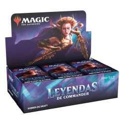 Magic the Gathering Leyendas de Commander Draft Booster Display (24) spanish