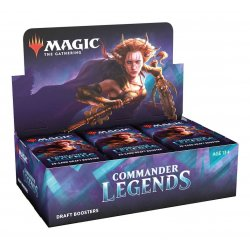 Magic the Gathering Commander Legends Draft Booster Display (24) english