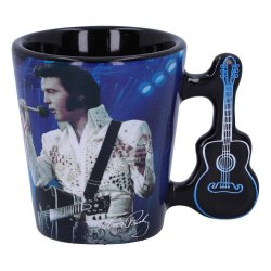 Elvis Presley Espresso Mug The King of Rock and Roll