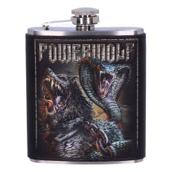 Powerwolf Hip Flask Logo