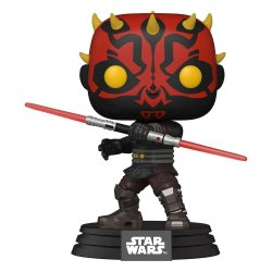 Star Wars: Clone Wars POP! Star Wars Vinyl Figure Darth Maul 9 cm