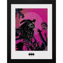 Batman Collector Print Framed Poster Arkham