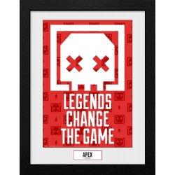 Apex Legends Collector Print Framed Poster Legends Change The Game