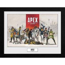 Apex Legends Collector Print Framed Poster Group