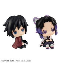 Demon Slayer Kimetsu no Yaiba Look Up PVC Statues Tomioka Giyu & Shinobu Kocho Limited Ver. 11 cm