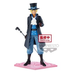 One Piece magazine PVC Statue Sabo Special Episode Luff Vol. 3 19 cm