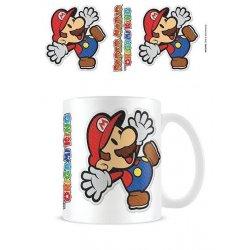 Paper Mario Mug Sticker