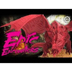 Epic Encounters RPG Board Game Lair of the Red Dragon *English Version*