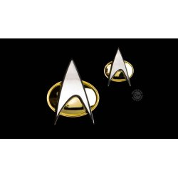 Star Trek: The Next Generation Badge & Pin Set Communicator