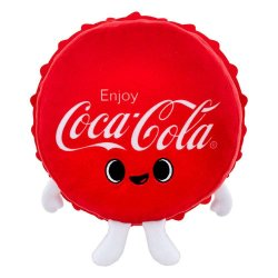 Coca-Cola Plush Figure Coca-Cola Bottle Cap 18 cm