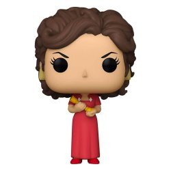 Clue POP! Movies Vinyl Figure Miss Scarlet w/Candlestick 9 cm