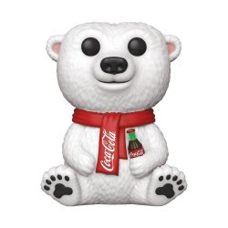 Coca-Cola POP! Ad Icons Vinyl Figure Coca-Cola Polar Bear 9 cm