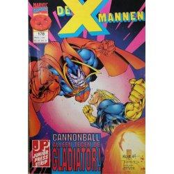 De X Mannen 178 Cannonball alleen tegen de Gladiator!