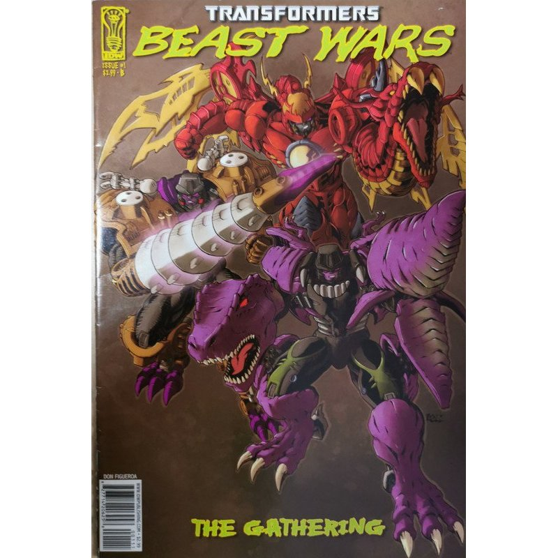 Transformers Beast Wars 1B The Gathering