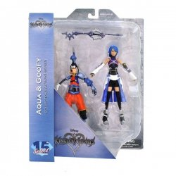 Kingdom Hearts Select Action Figures 18 cm - Aqua - Birth by Sleep Goofy