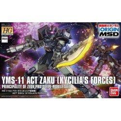 Gundam - YMS-11 Act Zaku (Kycilia's Forces) HGGTO 1/144
