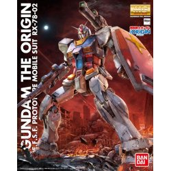 Gundam - RX-78-02 Gundam The Origin MG 1/100