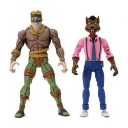 Teenage Mutant Ninja Turtles Action Figure 2-Pack Rat King & Vernon 18 cm