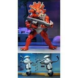 Teenage Mutant Ninja Turtles Action Figure 3-Pack Triceraton Infantryman & Roadkill Rodney 18 cm
