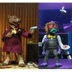 Teenage Mutant Ninja Turtles Action Figure 2-Pack Splinter & Baxter 18 cm