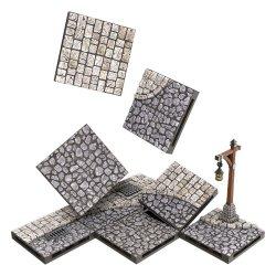 WarLock Tiles: Town & Village - Town Square