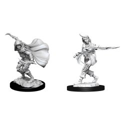 Pathfinder Battles Deep Cuts Unpainted Miniatures Human Rogue Female Case (6)