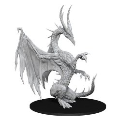 Pathfinder Battles Deep Cuts Unpainted Miniature Blue Dragon Case (6)