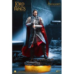 Lord of the Rings Real Master Series Action Figure 1/8 Aragon Deluxe Version 23 cm