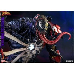 Marvel's Spider-Man: Maximum Venom Artist Collection Action Figure 1/6 Venomized Iron Man 35 cm