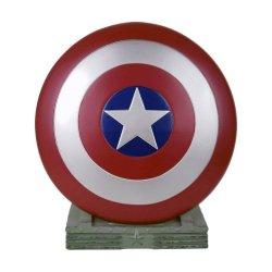 Marvel Coin Bank Captain America Shield 25 cm