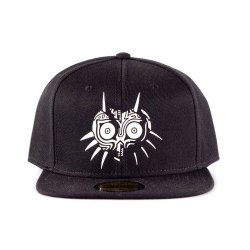 The Legend of Zelda Snapback Cap White Majora's Mask