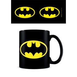 Batman Mug Symbol Black