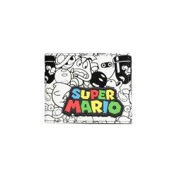 Super Mario Bifold Wallet Logo