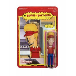 Beavis & Butt-Head ReAction Action Figure Wave 1 Burger World Beavis 10 cm
