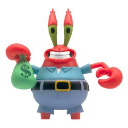 SpongeBob SquarePants ReAction Action Figure Mr. Krabs 10 cm
