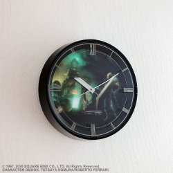 Final Fantasy VII Remake Wall Clock with Sound Cloud Model