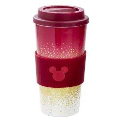 Disney Travel Mug Mickey Berry Glitter