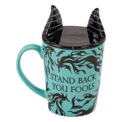Disney Villains Mug with Coaster Maleficent