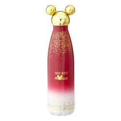 Disney Water Bottle Mickey Berry Glitter