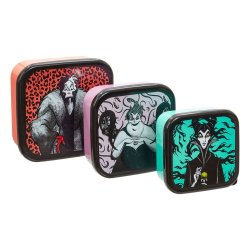 Disney Plastic Storage Set Villains