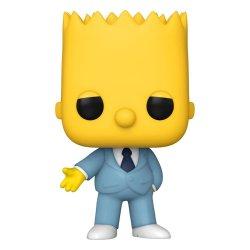 Simpsons POP! Animation Vinyl Figure Mafia Bart 9 cm