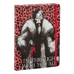 Disney Villains Notebook Cruella de Vil