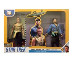 Star Trek Action Figures 2-Pack Mirror Universe Spock & Kirk 20 cm