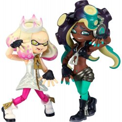 Splatoon 2 Figma Action Figures Off the Hook Pearl & Marina 9 - 10 cm