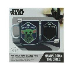 Star Wars The Mandalorian Heat Change Mug The Child