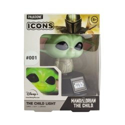 Star Wars The Mandalorian 3D Icon Light The Child