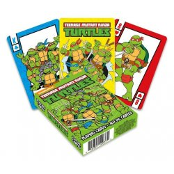 Teenage Mutant Ninja Turtles Playing Cards Cartoon